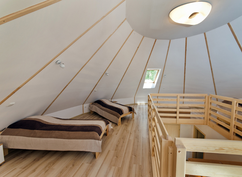 Gliniany domek