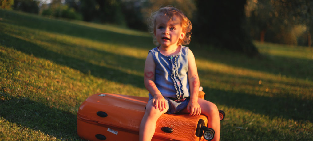 Jak podróżować z małym dzieckiem?